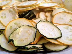 A single squash plant is quite productive and can easily overwhelm a family. Preserving it for the future is good and frugal idea. Not to mention your family may be pretty sick of it, if your eating a lot fresh. The two best ways I've found to dehydrate zucchini are: shredded and thinly sliced. The thinly sliced become zucchini chips and they're very good!