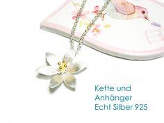 Kette Anhänger Echt Silber 925 von DeineSchmuckFreundin - Schmuck und Accessoires auf DaWanda.com
