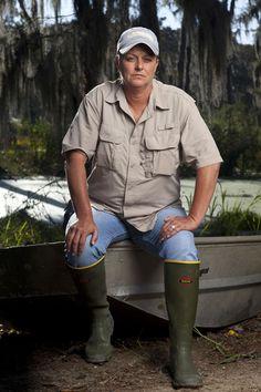 Liz Cavalier from Swamp People