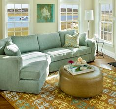Fresh Sectional View In Room Living Contemporary Furniture Circle