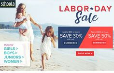 Schoola.com Labor Day Sale + 2 Promo Codes - http://couponsdowork.com/retail-more-coupons/schoola-labor-day-dealio/