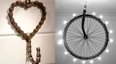 ¿Qué os parece si usamos bicicletas para la decoración? Aquí unas cuantas ideas. #Bicicletas #Decoración