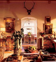 Charles Faudree house - livingroom - architect:  Jack Arnold - designer:  Charles Faudree