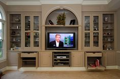 Entertainment center wall storage unit built in cost to have custom centers . custom entertainment center centers and media built ins Custom Entertainment Center, Entertainment Center Kitchen, Entertainment Stand, Corner Light, Console, Custom Fireplace, Built Ins, Ikea Hacks, Decoration