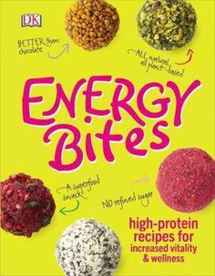 Energy Bites: High-protein Recipes for Increased Vitality & Wellness http://store.nutritionalwellness.us/
