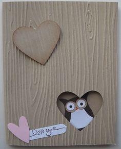 Stampin Up handmade greeting card Owl tree valentines birthday anniversary Lara  #AnyOccasion