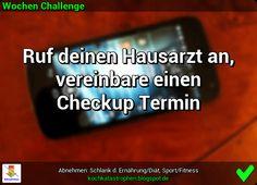 Der Blog zur Abnehmen-Community: www.kochkatastrophen.blogspot.de - Wochen Challenge: Mach einen Anruf