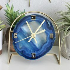 Updates from ModNorthandCo on Etsy Clock Art, Clocks, Agate Decor, Wall Clock Wooden, Modern Boho, Resin Crafts, Home Decor Inspiration, Getting Old, Future House