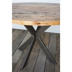 Intersections Dining Table Round by Urban Wood Goods
