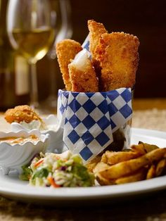 Fish 'n Chips is good any day of the week at Duke's Chowder House in #SeattleSouthside.