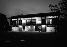 """315. Kenzo Tange /// Tange House /// Seijo, Tokyo, Japan /// 1951-1953 OfHouses presents """"Pritzkers' First Houses, part IV"""": Kenzo Tange (Pritzker 1987) was the most important Japanese architect in..."""