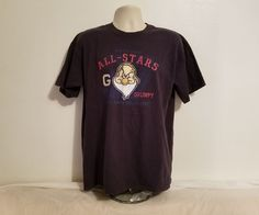 Miners League All Stars Grumpy 37 Its all about the Attitude Adult L Blue TShirt #Disney