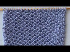 Punto a maglia semplice per principianti. Lavorato solo al punto diritto. Per tutti i progetti - YouTube Video, Tote Bag, Knitting, Crochet, Youtube, Anna, Fashion, Peace, Embroidery Stitches