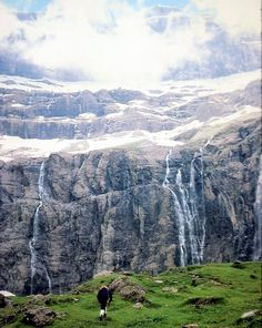How precious is Your lovingkindness, O God! Therefore the children of men put their trust under the shadow of Your wings. Mountain Waterfall, Rock Waterfall, Beautiful World, Beautiful Places, A Well Traveled Woman, Under The Shadow, All Nature, Top Of The World, Heaven On Earth