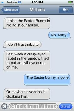NEW Daily Texts from Mittens: The Voodoo Edition  More Mittens: http://textsfrommittens.com/ #textsfrommittens #catster