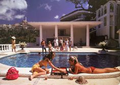 Sunday in Style: Summer Inspiration: Slim Aarons