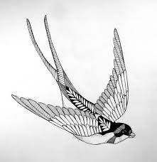 Image result for barn swallow tattoo
