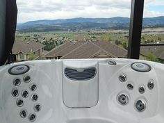 Jacuzzi® J-300 series installation. For more information, please visit http://www.premiumpoolandspa.ca