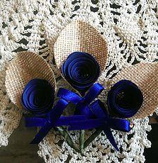 Design, Decor & Planning for Weddings & Events in Goa Burlap Boutonniere, Boutonnieres, Goa, Blue Wedding, Service Design, Jute, Wedding Planning, Rustic, Handmade