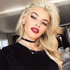 Immagine di girl, blonde, and hair