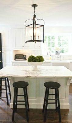 Kitchen Island Lighting: Trend Alert , Adore Your Place - Interior Design Blog