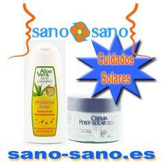Protección Solar, Aloe Vera, Islas Canarias, SPF 20, 250 ml. + Crema aftertersun