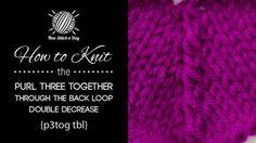 Knitting 19/52 NewStitchaDay.com