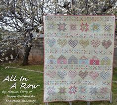 All In A Row Quilt