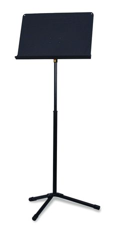 EZ Grip for one-hand height adjustment. Strengthened leg for long lasting use with maximum stability. Unique leg design saves floor space when stacking at the backstage. Hercules, Music Stand EZ Desk, w/Bag BS050B