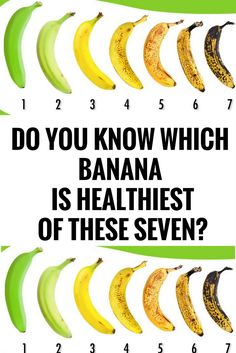 Do You Know Which Banana Is Healthiest of These Seven? %,.