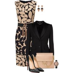 A fashion look from February 2017 featuring Alexander McQueen blazers, Christian Louboutin pumps and Chloé shoulder bags. Browse and shop related looks.