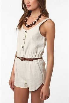 UrbanOutfitters.com > Sparkle & Fade Dolphin Short Romper - StyleSays