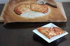 """Cauliflower pizza crust - Another pinner says """"This fool proof cauliflower crust pizza (and the best!) will make you wonder why you ever ate regular pizza. Paleo Recipes, Low Carb Recipes, Cooking Recipes, Pizza Recipes, Yummy Recipes, Free Recipes, I Love Food, Good Food, Yummy Food"""
