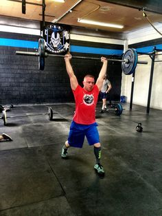 """#crossfit #gtoh #kettlebellswings  Thursday G-ML-C  Gymnastic 3x24sec Planche Holds  3x24sec Elevated Planche lean - lean fwd until hips are over the hands  Midline Tabata Tuch Crunch (hollow to tuck to hollow) Large Flutter Kicks  Conditioning """"Coach Brody"""" 2 GTOH 155/105# RX+185/135# 19 KB Swings 53/35# RX+70/53# 75 Abmat Sit-ups 20min AMRAP"""