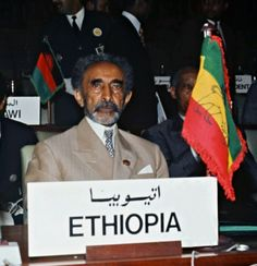 H.I.M. Haile Selassie I, and his Lions | Ethiopia, Emperor ...