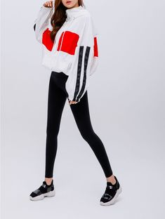 Korean Women`s Fashion Shopping Mall, Styleonme. Fashion Poses, Suit Fashion, Fashion Outfits, Fashion 101, Womens Fashion, Sporty Outfits, Athletic Outfits, Korean Outfits, Hoodie Outfit Casual