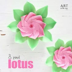 DIY 8 petal Lotus | Follow @ventunoart | Facebook #artalltheway | #diy #diycrafts #diyvideos #diyprojects #diytutorial #easydiy #papercraft #lotus #flowers #lotusflower #flowerstagram #flower #artandcraft #art #craft #craftideas #crafting #crafts #howto #tutorial