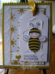 Baby Bumblebee Mini Gift Bag Thinlits