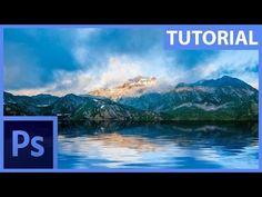 Photoshop – Jak vytvořit reálný odraz na vodní hladině   dtpko.cz Photoshop, Desktop Screenshot