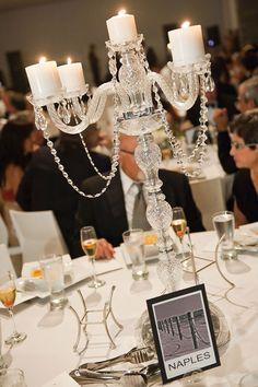 candelabra centerpiece ideas | Centerpieces - Candelabra Centerpieces | Wedding Planning, Ideas ...