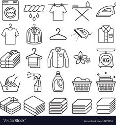 Find Laundry Service Icons Vector Illustrations stock images in HD and millions of other royalty-free stock photos, illustrations and vectors in the Shutterstock collection. Thousands of new, high-quality pictures added every day. Laundry Icons, Laundry Logo, Laundry Shop, Laundry Design, Laundry Symbols, Doodle Icon, Doodle Art, Dry Cleaning Business, Laundry Business