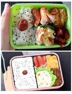 Anime bento challenge ekolabine shokugeki no soma food wars! Asian Recipes, Real Food Recipes, Cooking Recipes, Paleo Food, Paleo Diet, Cute Food, Good Food, Yummy Food, Bento Anime