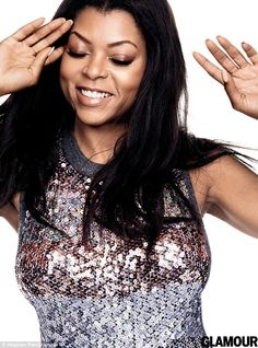 Doing it her way: Just like her beloved - and feared - character Cookie on Empire, Taraji ...