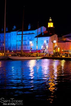 "500px / Photo ""Noël à Saint-Tropez"" by Marc de Delley"