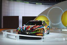 BMW celebrates 40 years of BMW Art Cars - http://www.bmwblog.com/2015/05/26/bmw-celebrates-40-years-of-bmw-art-cars/