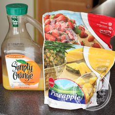 Tropical Surprise Orange Smoothie Recipe | The WiC Project Blog