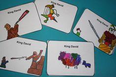 printable cards king David