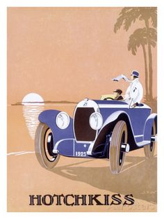 Hotchkiss Automobile Giclee Print at AllPosters.com