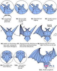 Image result for bat origami