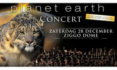 The Magical Planet Earth in Concert Comes to Amsterdam. The beautiful cinematography of the BBC's Planet Earth will be presented in a concert, in a beautiful harmony with a real symphonic orchestra, lead by the famous George Fenton, who was awarded an Emmy for his work. It will take place in Ziggo Dome on Saturday, 28 December 2013.